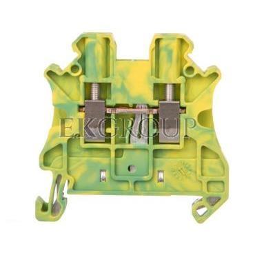 Złączka szynowa ochronna 0,14-4mm2 zielono-żółta EX UT 2,5 3044092-213544