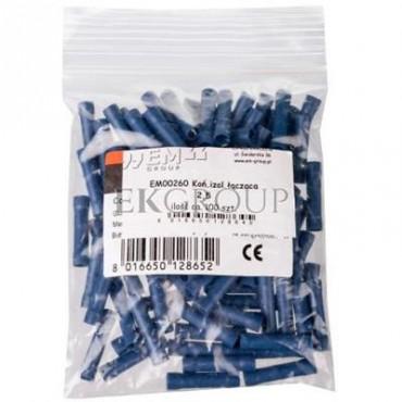 Końcówka /tulejka/ łącząca izolowana 1,5-2,5mm2 PVC LI 2,5 /100szt./-208490