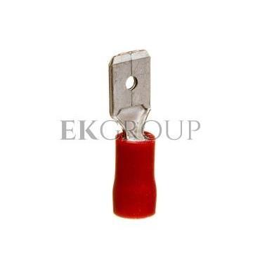 Wtyk konektorowy izolowany 0,25-1,5mm2 6,3x0,8 PVC WKI1,5/6,3/0,8 /100szt./-210918