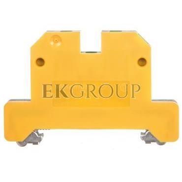 Złączka szynowa ochronna 2-przewodowa 2,5mm2 zielono-żółta EK 2.5/35 0661060000-213571