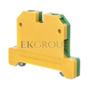 Złączka szynowa ochronna 2-przewodowa 6mm2 zielono-żółta EK 6/35 0661260000-213573