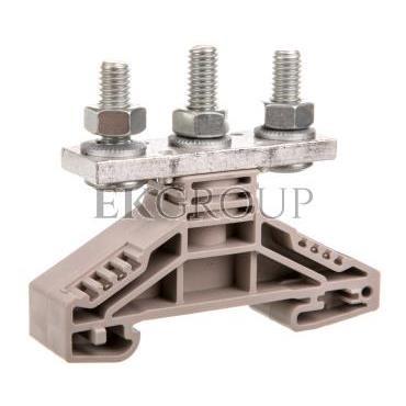 Złączka szynowa 3-przewodowa 35mm2 beżowa WF 6/2BZ 1789770000-214524