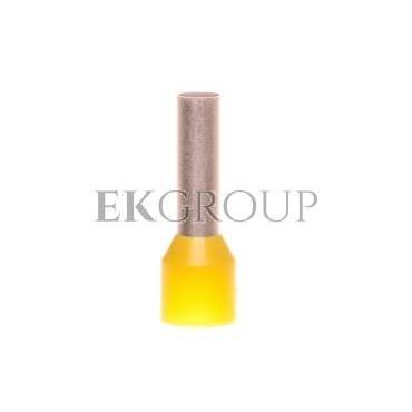 Końcówka tulejkowa izolowana TE 6-12 /100szt./-210356