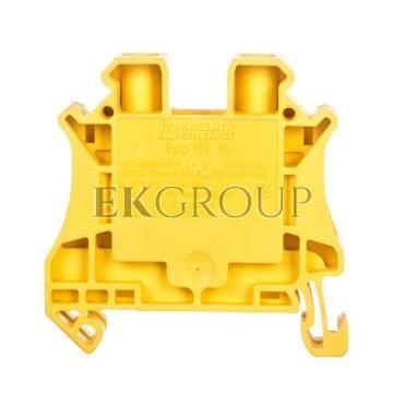 Złączka szynowa 2-przewodowa 10mm2 żółta Ex UT 10 YE 3046294-214588