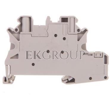 Złączka szynowa elementów kontrolnych 2-przewodowa 4mm2 szara UT 4-PE/L-DIO/L- 3046834-214935