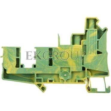 Złączka szynowa ochronna 6mm2 śrubowa/wtykowa zielono-żółta UT 6-QUATTRO/2P- 3060584-213594