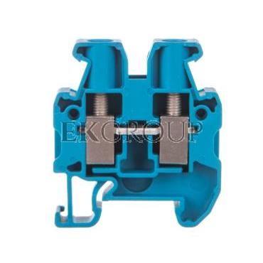 Złączka szynowa przelotowa 2-przewodowa 4mm2 niebieska Ex MUT 4 BU 3248036-214638