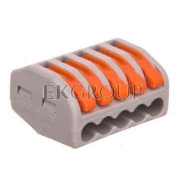 Szybkozłączka 5x 0,75-2,5mm2 z dźwigniami zwalniającymi ZL5-212592