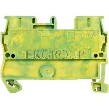 Złączka szynowa ochrona 2-przewodowa 0,08-4mm2 zielono-żółta ST-2,5 PE 3031238-213540
