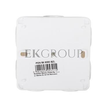 Puszka n/t hermetyczna pusta 75x75mm IP56 biała PON568080BZL-211145