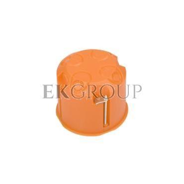 Puszka podtynkowa 60mm regips głęboka pomarańczowa P60DF 31074008 /45szt./-211077