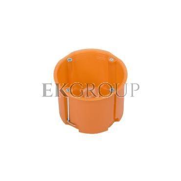 Puszka podtynkowa 60mm regips głęboka pomarańczowa P60DF 31074008 /45szt./-211078