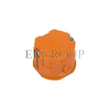 Puszka podtynkowa 60mm regips pomarańczowa P 60KF 31040008 /60szt./-211083