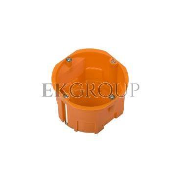 Puszka podtynkowa 60mm regips pomarańczowa P 60KF 31040008 /60szt./-211084