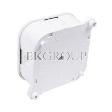 Puszka n/t hermetyczna pusta 85x85x40mm IP42 bez wkładu biała PO 75p 83011006-211149