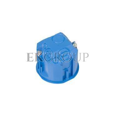 Puszka podtynkowa 60mm regips głęboka niebieska PV 60D 32013203-211085