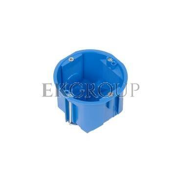 Puszka podtynkowa 60mm regips głęboka niebieska PV 60D 32013203-211086
