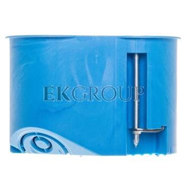 Puszka 2x 65mm p/t regips 45mm niebieski P 2x32 32023203-211120