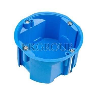 Puszka podtynkowa 60mm regips płytka niebieska PV 60K 32017203 /60szt./-211087
