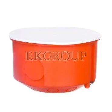 Puszka 80mm p/t regips pomarańczowa PO-80 0209-00-211109