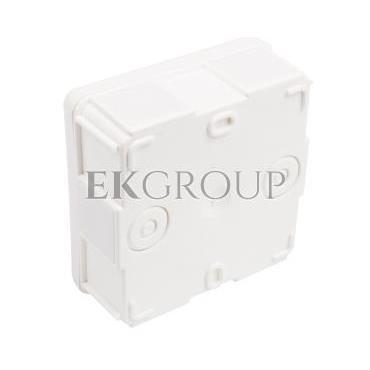 Puszka n/t hermetyczna pusta 87x87x39mm IP55 biała EP-Lux 0226-00-211211