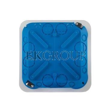 Puszka podtynkowa regips 115x115x45mm niebieska P 110 32042203-211124