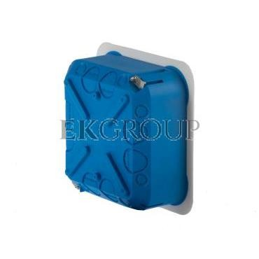 Puszka podtynkowa regips 115x115x45mm niebieska P 110 32042203-211125