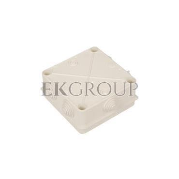 Puszka n/t hermetyczna pusta 135x135x65mm IP55 biała PK-4 0233-00-211238