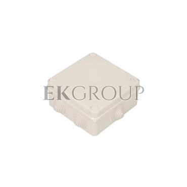 Puszka n/t hermetyczna pusta 135x135x65mm IP55 biała PK-4 0233-00-211239
