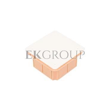 Puszka podtynkowa 96x96x62mm pomarańczowa Pp/t 3 11.3-212048