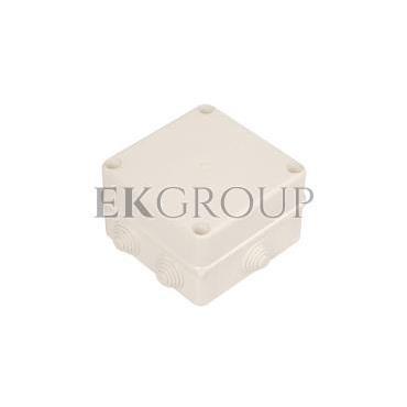 Puszka n/t hermetyczna pusta 135x135x85mm IP55 biała PK-5 0252-00-211248