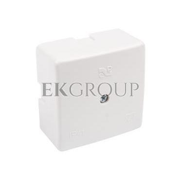 Puszka n/t hermetyczna pusta 60x60x30mm IP41 biała 0236-00-211249