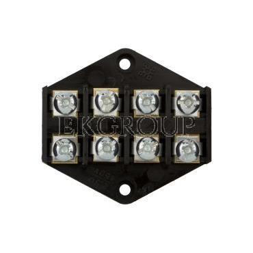 Płytka odgałęźna ZPT/2,5mm2/4-tory czarna ZPT 4-2.5 83001007-213018