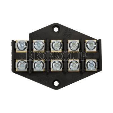 Płytka odgałęźna ZPT/2,5mm2/5-torów czarna ZPT 5-2.5 83002007-213019