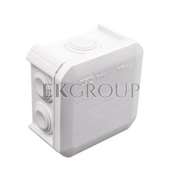 Puszka n/t odgałęźna 90x90x52 IP55 T 40 2007045-211272