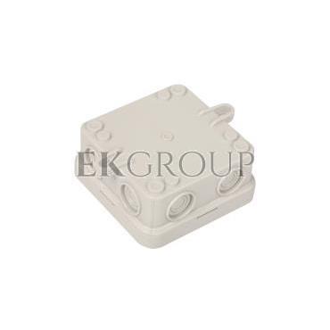 Puszka n/t odgałęźna 75x75x36mm IP55 A 8 2000016-211276