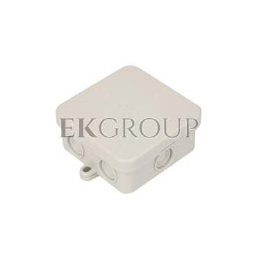 Puszka n/t odgałęźna 75x75x36mm IP55 A 8 2000016-211277