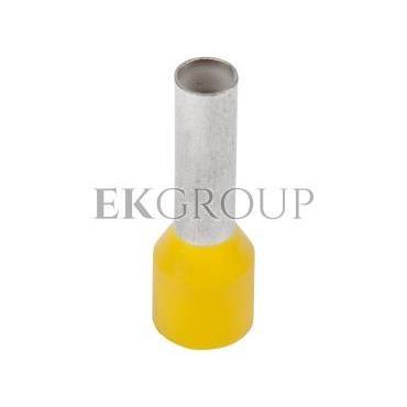 Końcówka tulejkowa izolowana HI 6/12 DIN żółta E08KH-02010106301 /100szt./-209975