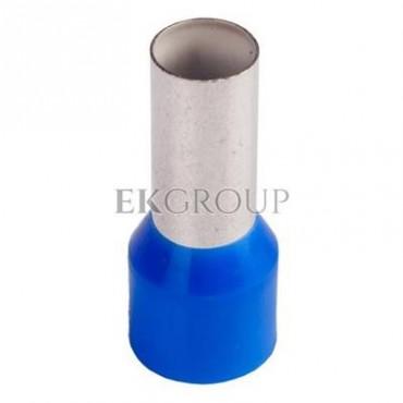 Końcówka tulejkowa izolowana HI 16/12 DIN niebieska E08KH-02010107801 /100szt./-210170