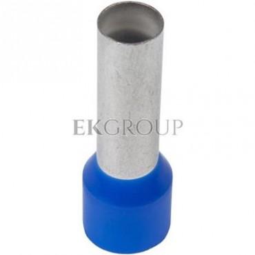 Końcówka tulejkowa izolowana HI 16/18 DIN niebieska E08KH-02010108101 /100szt./-209991