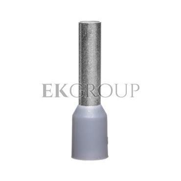 Końcówka tulejkowa izolowana TI 4mm2/12mm szara cynowana TI4L12 /100szt./-210076