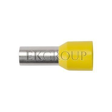 Końcówka tulejkowa izolowana HI 25/16 DIN żółta E08KH-02010108401 /50szt./-210101