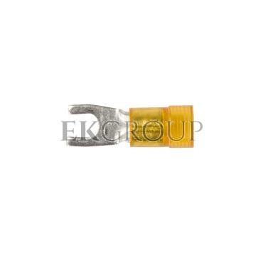 Końcówka widełkowa izolowana KWI 6/4 PC E09KO-02030301800 /100szt./-210535