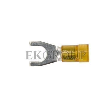 Końcówka widełkowa izolowana KWI 6/6 PC E09KO-02030302000 /100szt./-210539