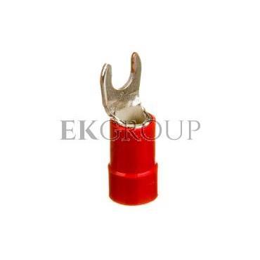 Końcówka widełkowa izolowana KWI 10/5 E09KO-02030102900 /100szt./-210589