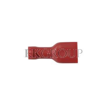 Nasuwka całkowicie izolowana NCI 6,3-1/0,8 PCV E10KN-03010302801 (100szt.)-210888