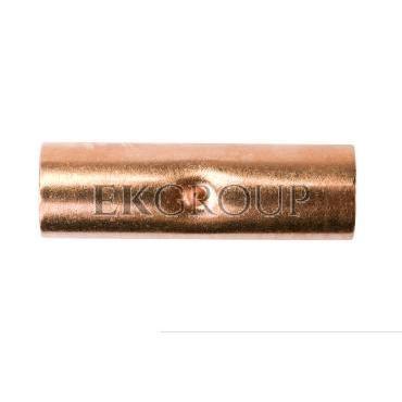 Końcówka (tulejka) łącząca miedziana ZM 120 E11KM-01060300800-208473