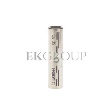 Końcówka (tulejka) łącząca miedziana cynowana KLD 35 E11KM-02060100400-208513