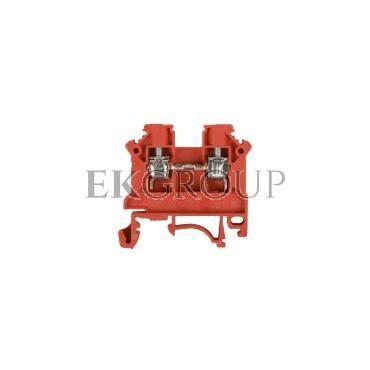 Złączka szynowa 2-przewodowa 4mm2 czerwona NOWA ZSG1-4.0Nc 11321311-213815