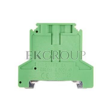 Złączka szynowa ochronna 4mm2 zielono-żółta ZSO1-4.0 14313319-213425